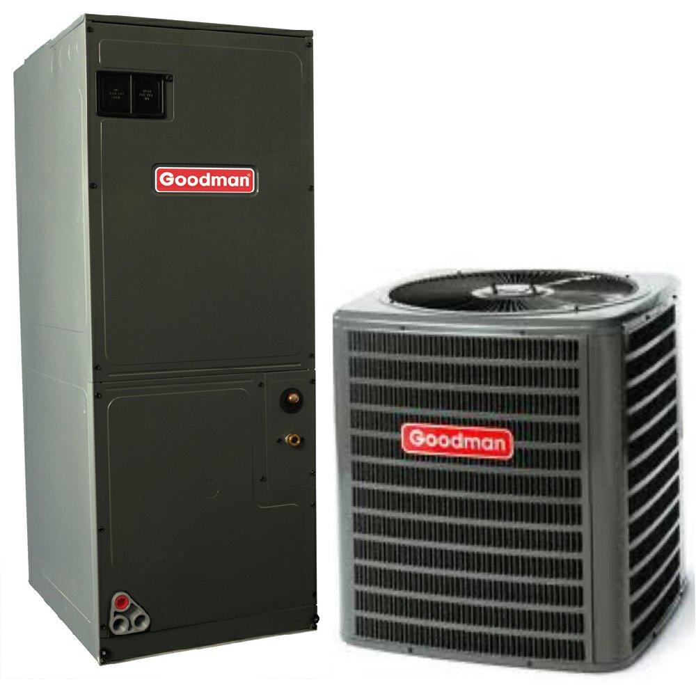 goodman 3 5 ton heat pump. amazon.com: 2.5 ton 13 seer goodman heat pump system - gsz130301 aruf30b14: home \u0026 kitchen 3 5 m