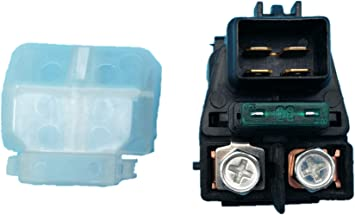 shamofeng Starter Solenoid Relay For SUZUKI ATV LT-A700X KINGQUAD 700 4x4 2005 2006 REPLACES:31800-07G00 3409-025