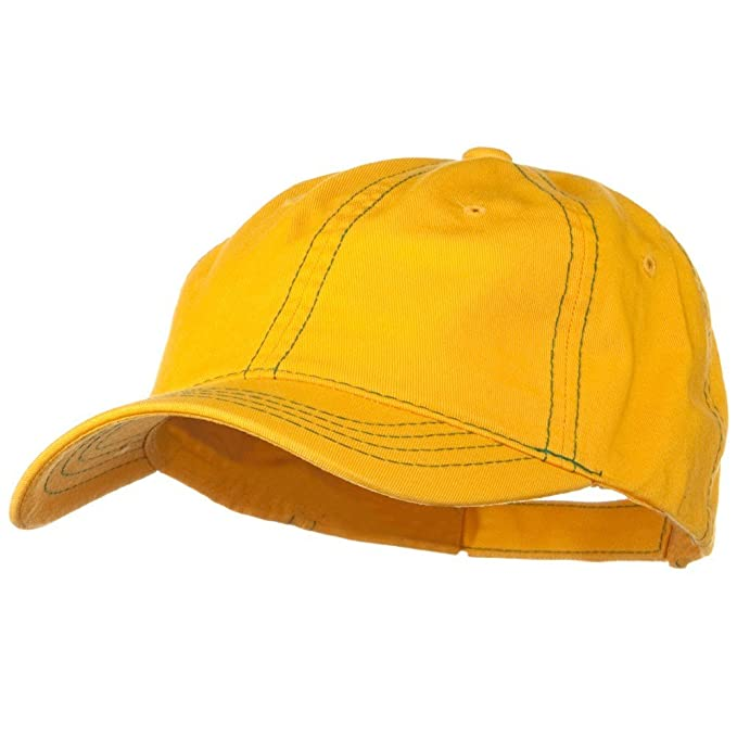 DECKY Contra Stitch Washed Polo Cap - Yellow Kelly at Amazon Men s Clothing  store  Baseball Caps 00a3d6d12523