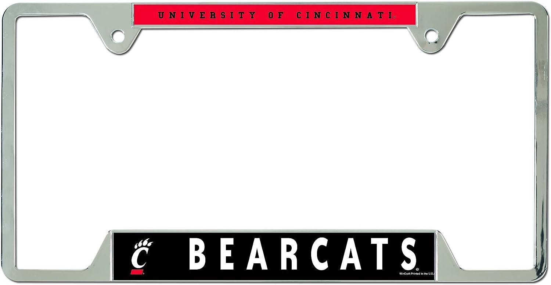 NCAA Metal License Plate Frame