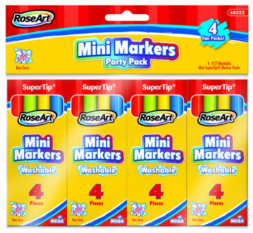RoseArt 4 Count Markers Packaging 48222UA 48 product image