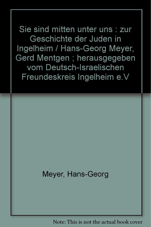4e21c3a3868bf6 Sie sind mitten unter uns   zur Geschichte der Juden in Ingelheim ...