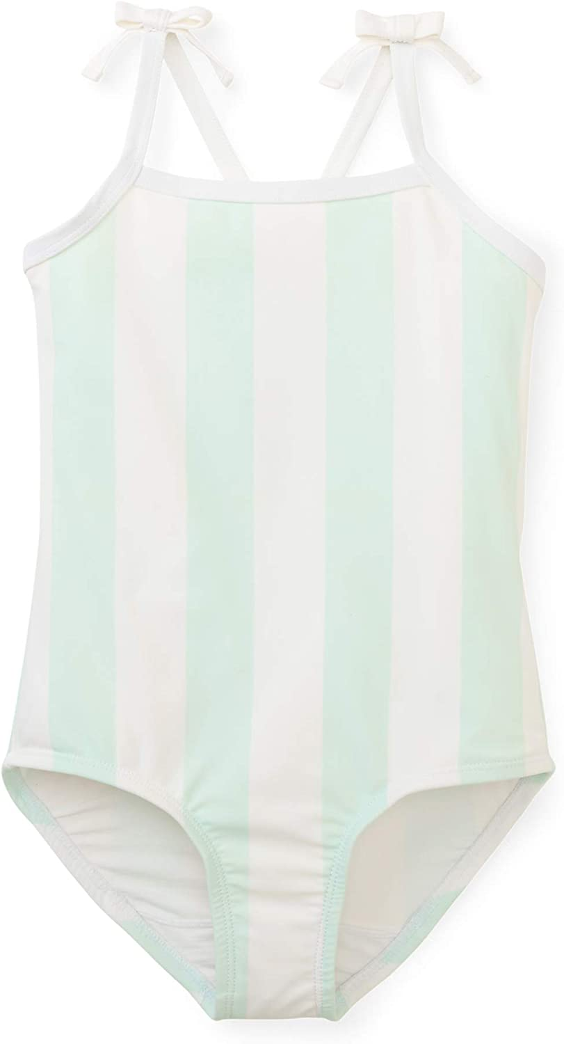 Hope /& Henry Girls One-Piece Swimsuit Containing Recycled Fibers