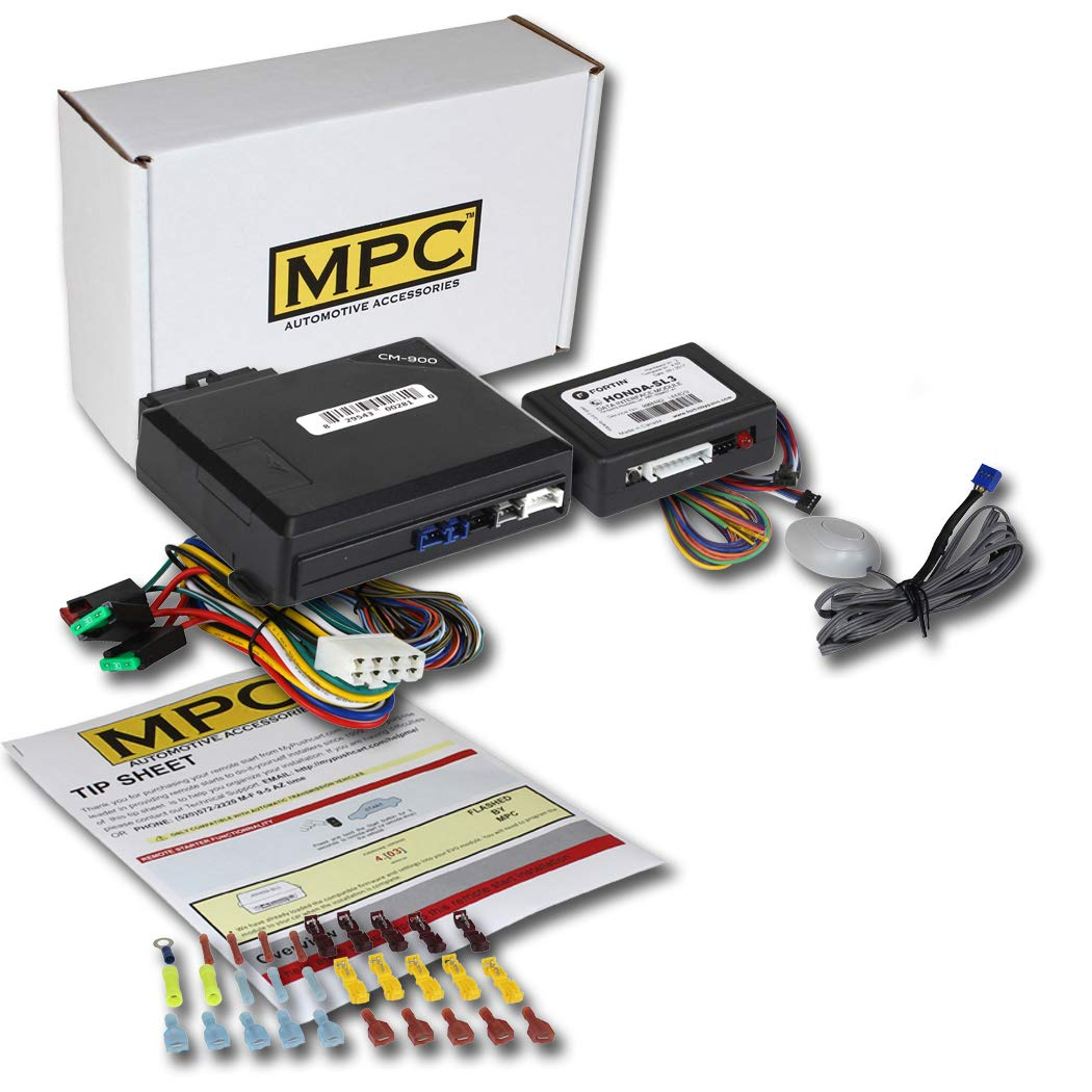 MPC Complete Add-on Remote Start Kit for 2009-2013 Honda Pilot - Uses Factory Remotes - Firmware Preloaded