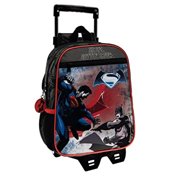 Warner Batman Vs Superman Mochila Infantil, 6.44 Litros, Color Negro: Amazon.es: Equipaje