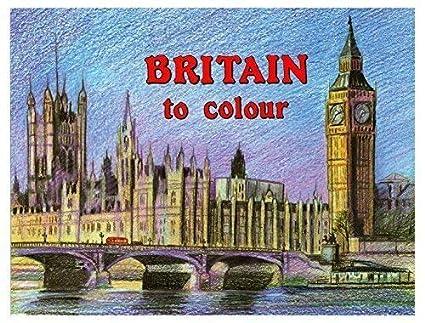 Britain à Couleur Adultes Peinture Coloriage Books Famous