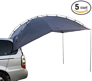 Hasika Awning Camper Trailer Roof Top Family Tent For Beach Camping SUV MPV Hatchback