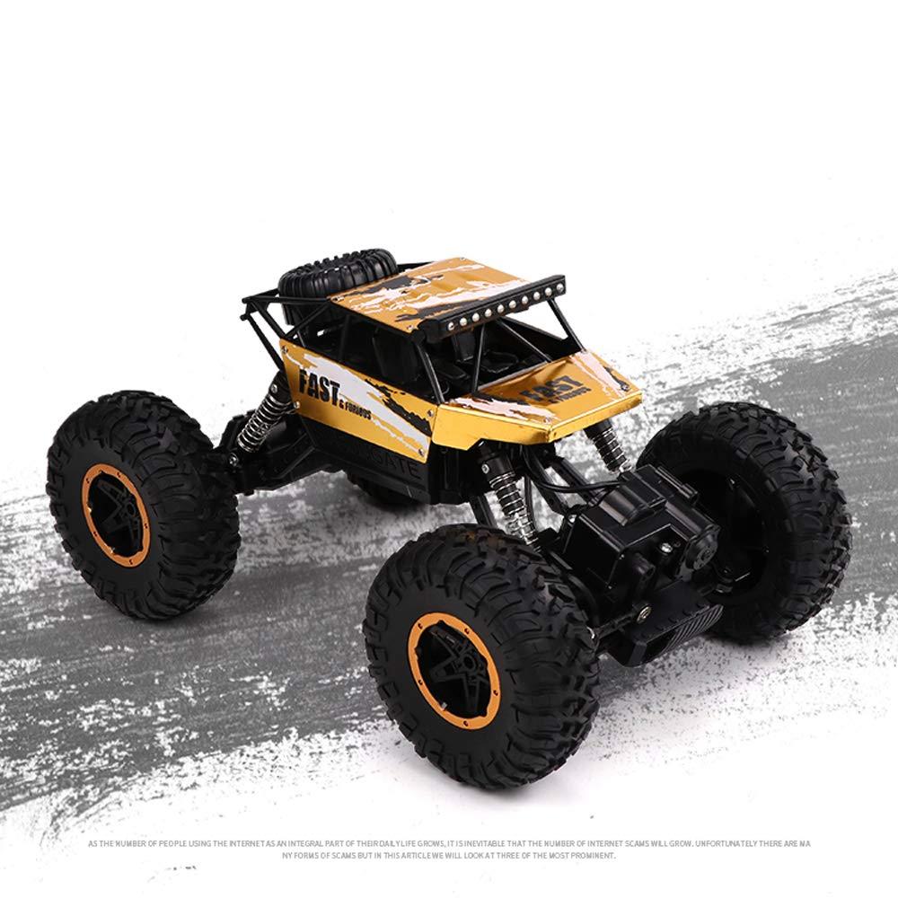 Juguete modelo de coche Control Remoto de aleación Todoterreno tracción en Las Cuatro Ruedas Recargable Control Remoto inalámbrico de Alta Velocidad Escalada Carreras Juguete