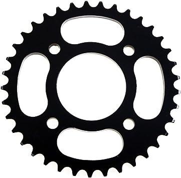 Pi/ñ/ón de Cadena de Transmisi/ón Trasera Diente de Pit Dirt Bike 58mm 37Dientes