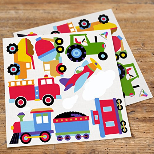 Olive Kids Tptx Trains (Olive Kids Trains, Planes and Trucks Peel and Stick Wall Decal Cut Outs)