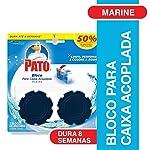 Desodorizador Bloco para Caixa Acoplada Marine 2 Unidades 40 g, Pato