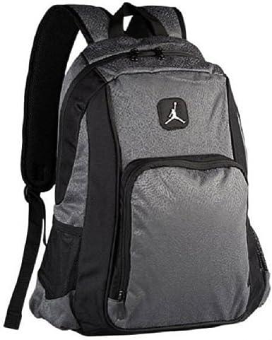 Adaptado Abundante Decepción  Amazon.com: Nike Air Jordan Legacy Elite - Mochila escolar, color gris  oscuro: Clothing