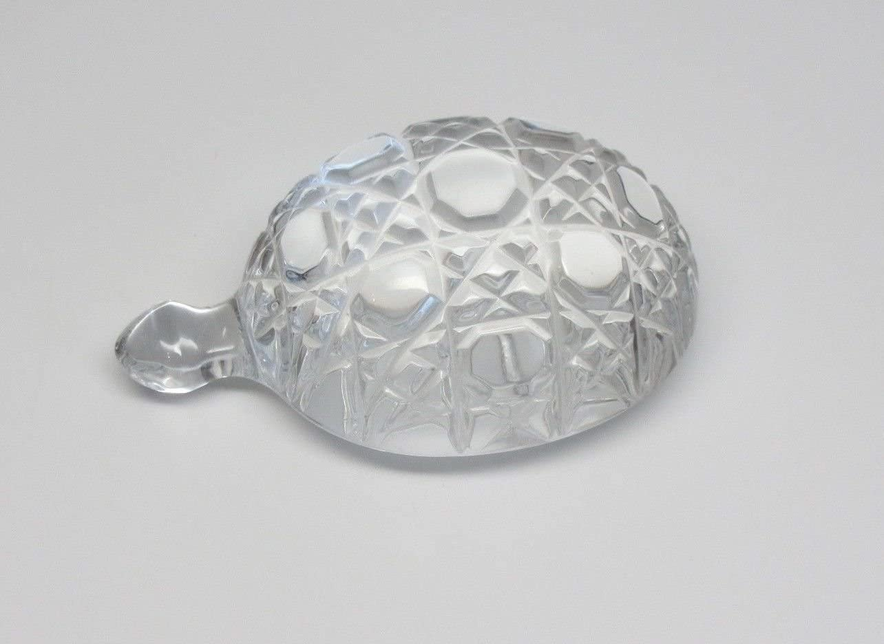 Waterford Crystal Collectible Turtle Figurine Sculpture