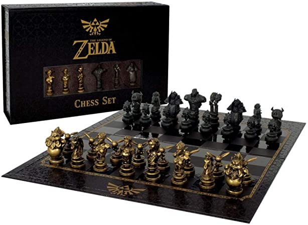 Horror-Shop Juego De Ajedrez The Legend of Zelda Collectors: Amazon.es: Juguetes y juegos