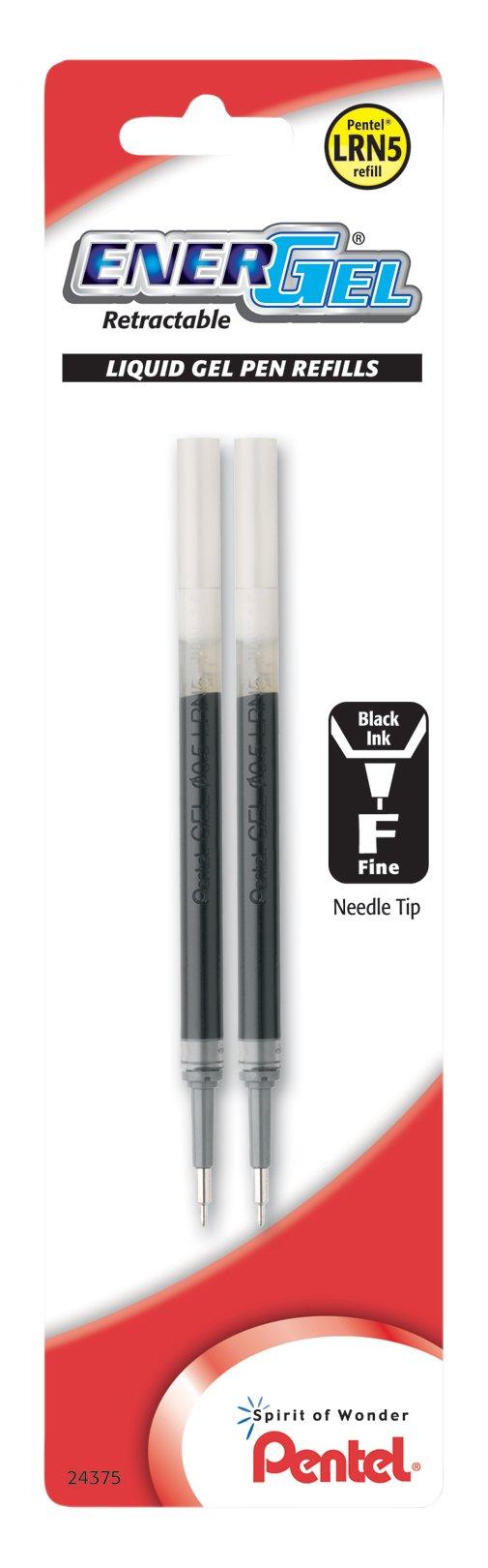 Recarga Tinta Pentel 0.5mm Negro (LRN5BP2A) [2un.]