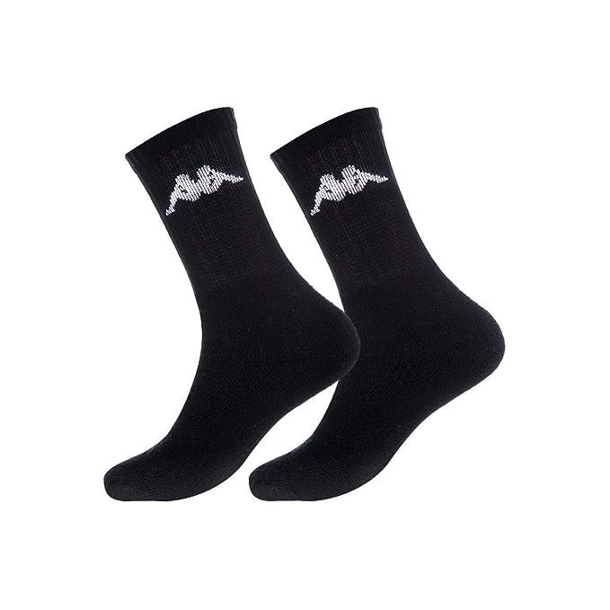Kappa PK1081-G, Calcetines Cortos para Hombre, (Negro), (Tamaño del Fabricante:39/42): Amazon.es: Ropa y accesorios