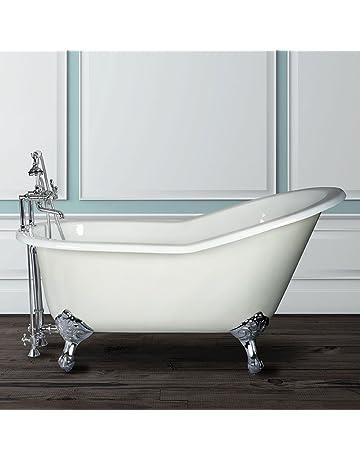 Clawfoot Bathtubs Amazon Com Kitchen Bath Fixtures Bathtubs