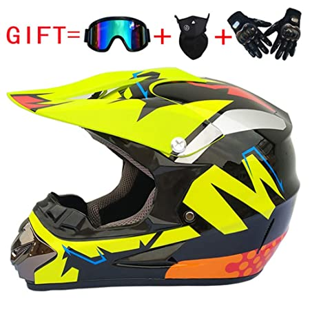 LICIDI Off-Road Motocicleta Casco De Seguridad Defender ...