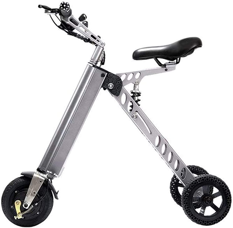 Bicicletas Eléctricas, Bicicletas eléctricas rápidas for adultos portátil pequeño eléctrico de la bici adulta bicicleta plegable Scooter eléctrico pequeño Mini eléctrico triciclo Mujer bici de la bate