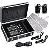 Vogvigo Dual User Foot Bath Machine Ionic Detox Foot Spa Cell Cleanse Machine LCD Ion Detox Machine with belts, 2 Stainless Steel Arrays