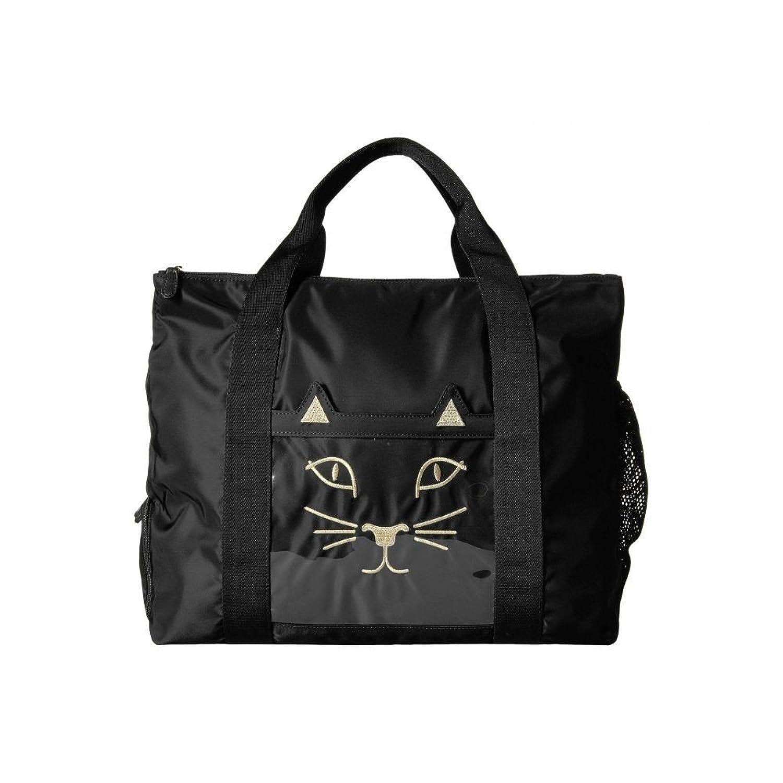 (シャーロット オリンピア) Charlotte Olympia レディース ポーチ Purrrfect Gym Bag [並行輸入品] B0785W2G5YOne Size