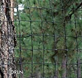 Tenax 8' tall x 330' Deer Fencing Professional C-flex black polypropylene 10-15 year life
