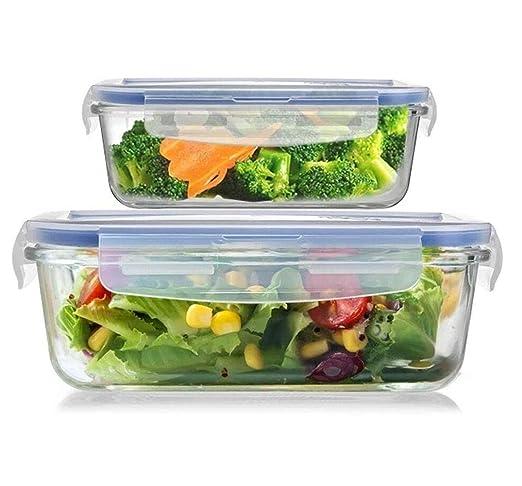 Recipientes de almacenamiento de alimentos de plástico con ...