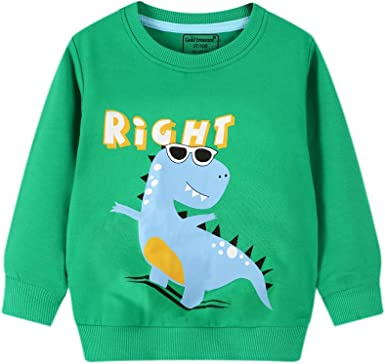 Boys Sweater Long Sleeve Pullover Shirt