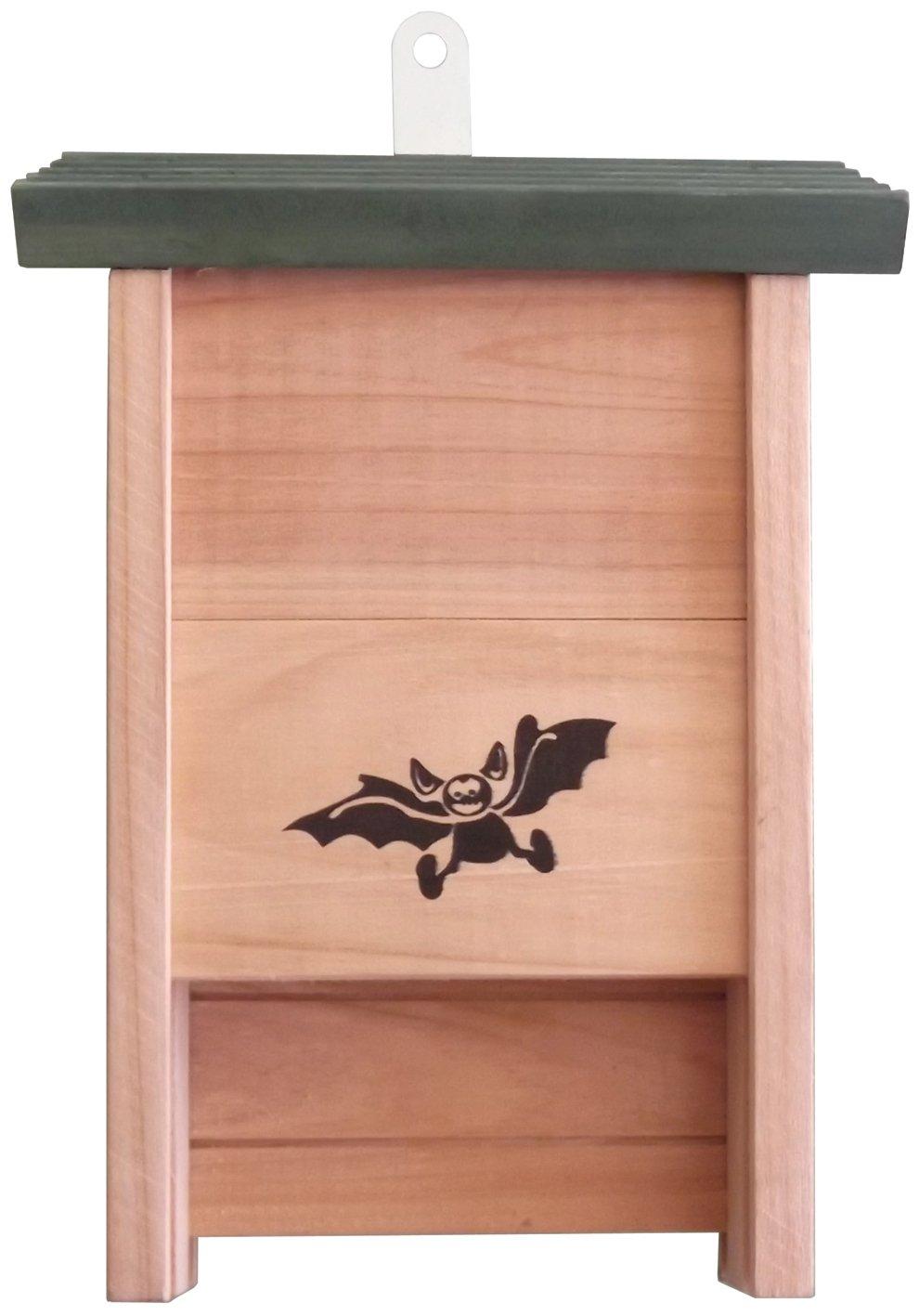 Casetta Legno Pipistrello