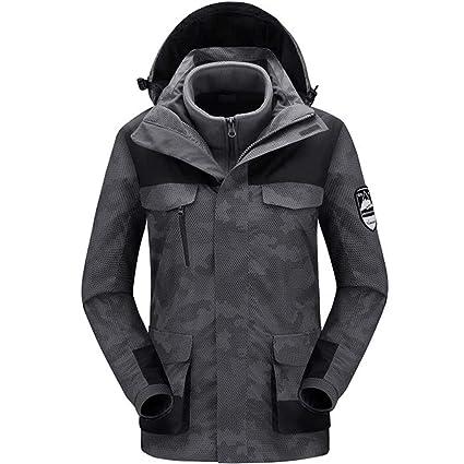 pretty cool 50% off lowest price Zilee Veste de Ski Homme - Imperméable Manteau Chaud 3 en 1 ...