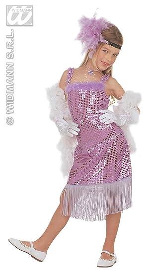 61dca55682cf5 WIDMANN Desconocido Disfraz de actriz rubia cabaré para niña  Amazon.es   Juguetes y juegos
