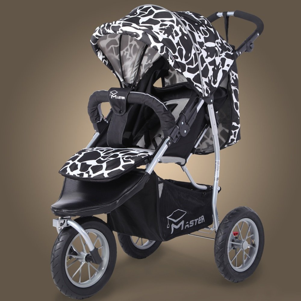 Kinderwagen Kinderwagen können sitzen Baby kann gefaltet werden Kinderwagen Einfach Einfach Einfach zu verwenden (Farbe : 4 ) 385137