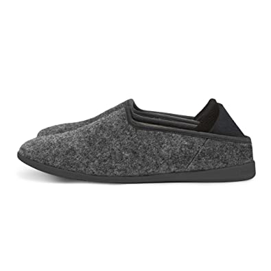 4b2b4dbac56 mahabis Classic 2 Slippers - larvik Dark Grey with skien Black Soles in EU  44