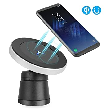 XINLON Magnetic Wireless Car Charger,Wireless Charging for Samsung S8 S8+ S8 Plus S7 S7 Edge S6 Edge Plus Note 5 Note 7 Note 8?Apple iPhone X/8/8 Plus and All QI-Enabled Devices(No AC Adap at amazon