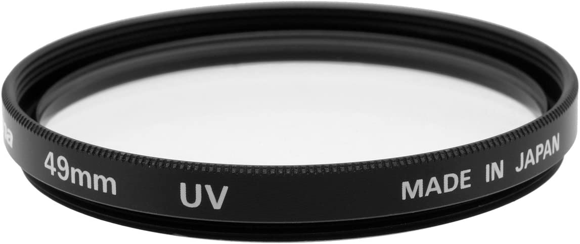 Fujiyama 49mm UV Filter for Sony Alpha NEX-7 NEX-6 NEX-5R NEX-5N NEX-5 NEX-F3 NEX-C3 NEX-3 Black