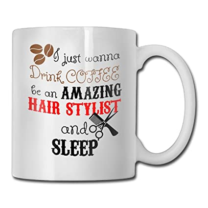 Amazoncom Funny Quotes Mug With Sayings Hair Stylist Graduation