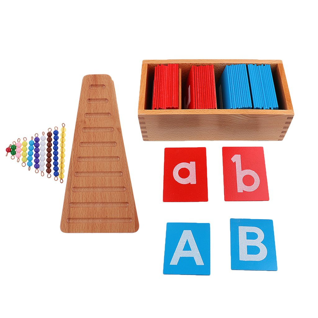 Sodial Juguetes Cognitivos Educativos Juego De Bloques De Geometria Bolso Del Misterio De Montessori De Madera Material Escolar Y Educativo Educators Material De Educación Infantil