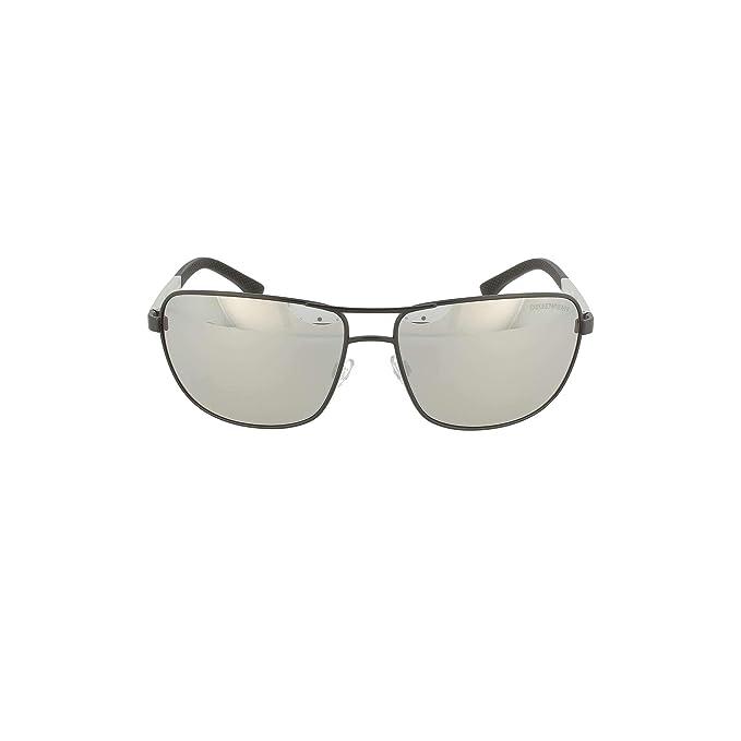 Emporio Armani 0EA2033 Gafas de sol, Matte Black, 64 para ...
