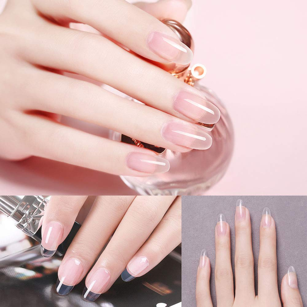 c22f60f0a3 Amazon.com: Gershion Poly Extension Nail Gel 60ML 2.02oz Clear Nail Builder  Enhancement Nail Thickening Tool: Beauty