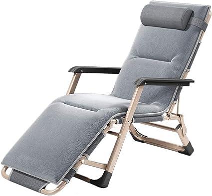 Relaxsessel Gartenliege Klappstuhl Liegestuhl Relaxliege Grau Klappbar 368 B