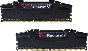 G.Skill RipJaws V Series 16GB (2 x 8GB) 288-Pin SDRAM PC4-28800 DDR4 3600 CL18-22-22-42 1.35V Dual Channel Desktop Memory Model F4-3600C18D-16GVK