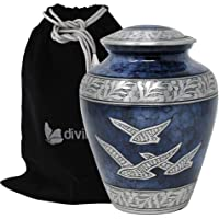Divinityurns Wings Hope Cremation Urn - Large Wings Freedom Urn - Returning Home Adult Urn - Handcrafted Affordable Urn…
