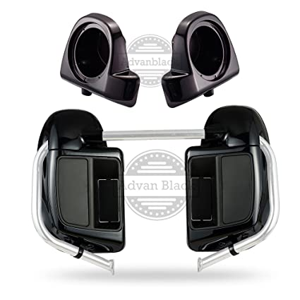 Covers & Ornamental Mouldings Reliable Motorcycle Vented Lower Fairing 6.5speaker With Boxes Pods For Harley Touring Road King Street Glide Electra Glide 2014-2018