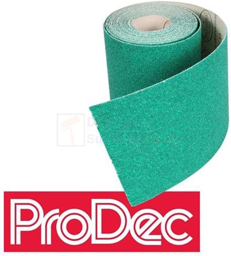 120s Extra Fine Aluminium Oxide Sandpaper Rolls *All Grades* 60 80 100 120 Fine Medium Coarse