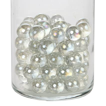 Amazon Home X Decorative Glass Beads Vase Filler Beads Round