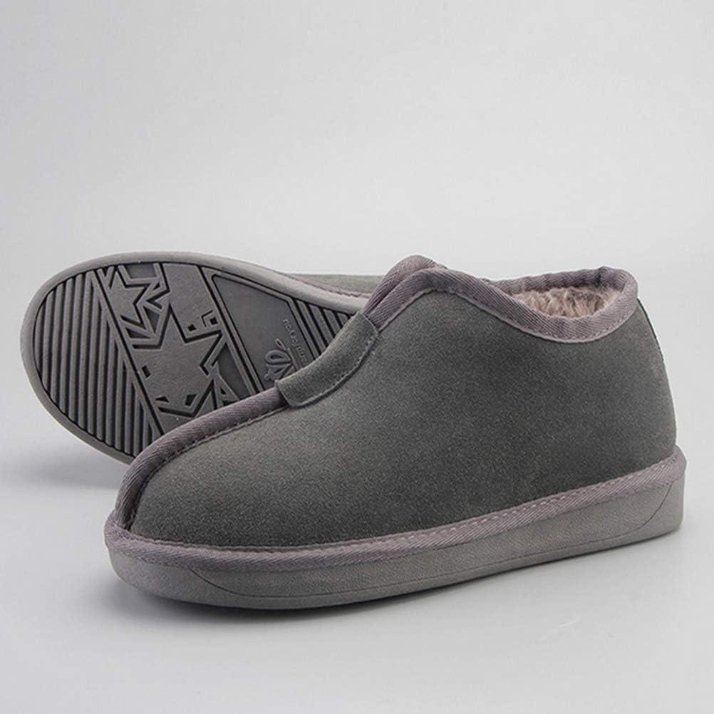 Warm in Winter Snow Boots, Neutral Men Women Flat Soles Casual Shoes D