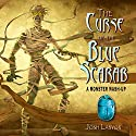 The Curse of the Blue Scarab:  A Monster Mash-Up Hörbuch von Josh Lanyon Gesprochen von: Alexander Masters