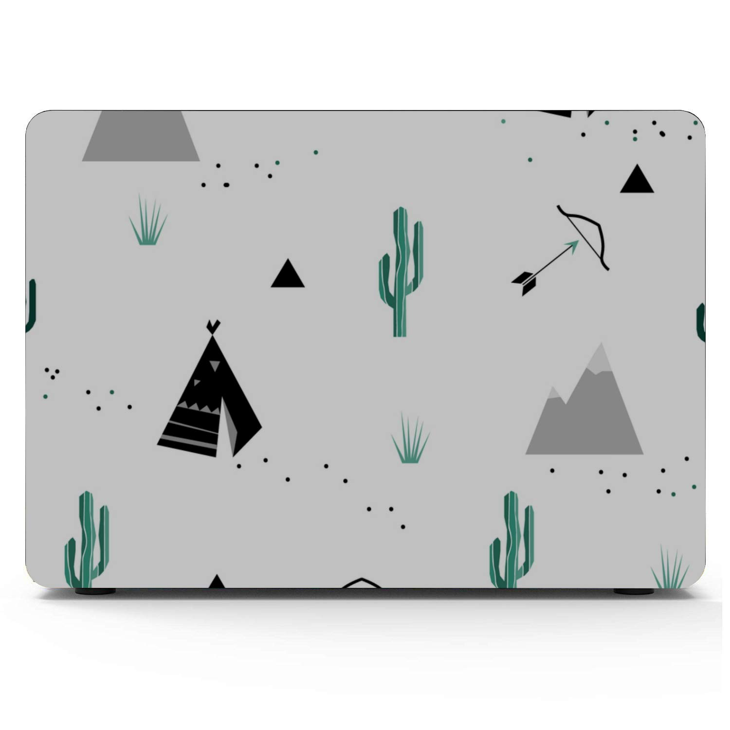 Laptop Cover Wilderness Nature View Sun Cactus Tree Plastic Hard Shell Compatible Mac Air 11 Pro 13 15 MacBook Pro 2015 Case Protection for MacBook 2016-2019 Version