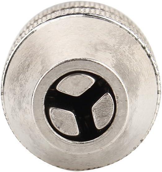 Mini Chuck Hexagonal Stem 1//4 Keyless Drill Chuck Adapter Converter Hexagon Shank 0.3-3.6MM Quick Change