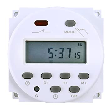 A Digital de LCD Power temporizador programable interruptor